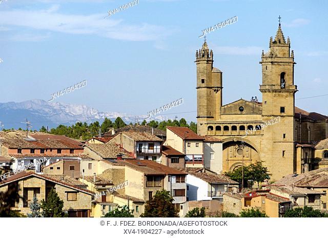 El Ciego village, La Rioja, Spain