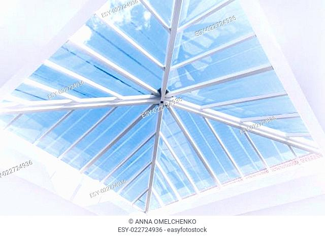 Glass roof design