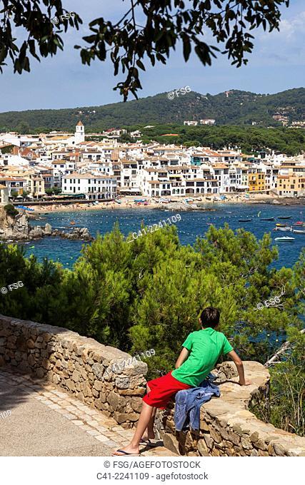 Calella de Palafrugell. Costa Brava, Girona. Spain