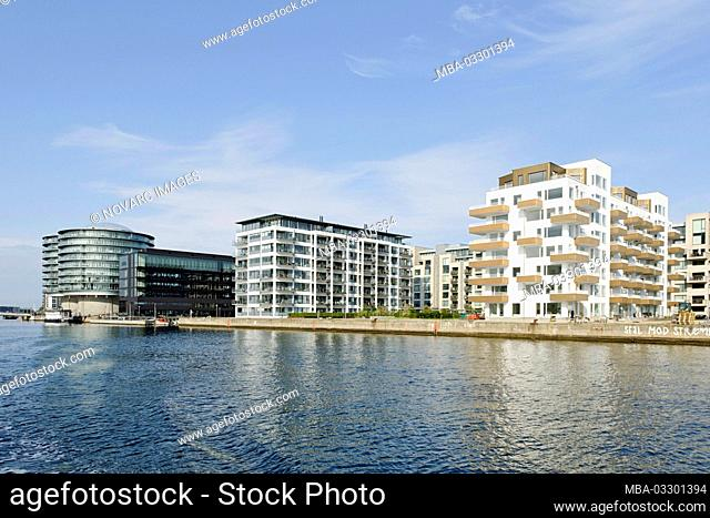 Apartments in Vesterbro, Sydhavnen, Copenhagen, Denmark