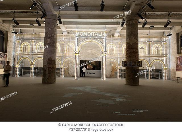 Monditalia, Fundamentals, the 14th International Architecture Exhibition, Biennale di Venezia, Italy, Europe