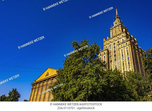 Academy of Science in Riga, Latvia, Europe