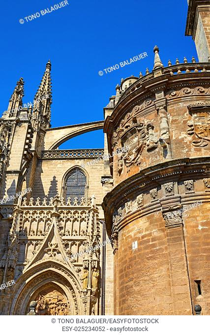 Seville the cathedral of Sevilla Andalusia Spain