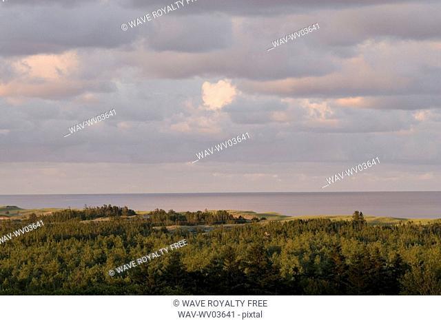 Vista near Basin Head, Prince Edward Island