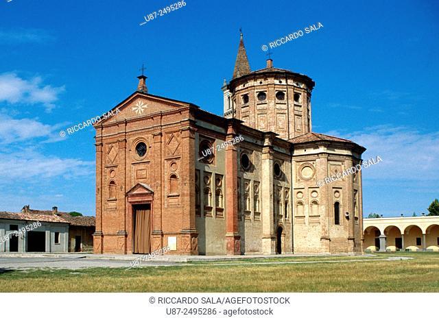 Italy, Lombardy, Castelleone, Santuario della Madonna della Misericordia, Sanctuary