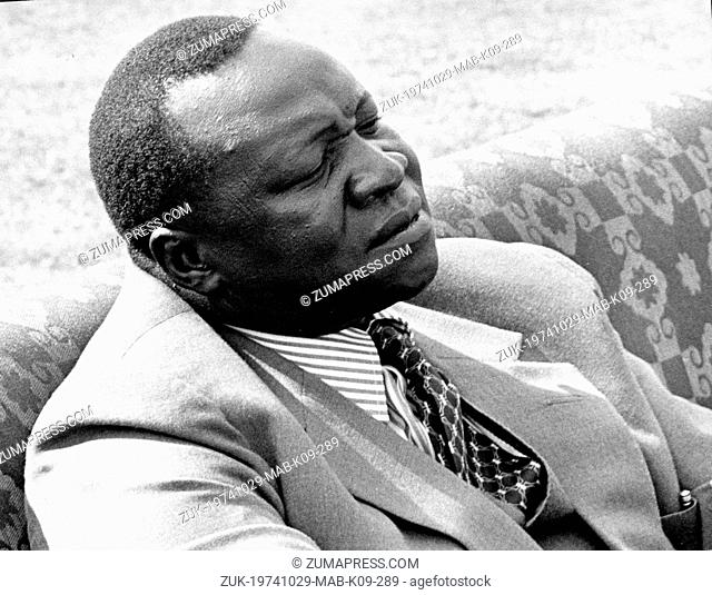 Oct 29, 1974; Kampala, Uganda; The Ugandan people celebrated the 11th anniversary of Independence.Since 1971 the country has been ruled by President IDI AMIN...