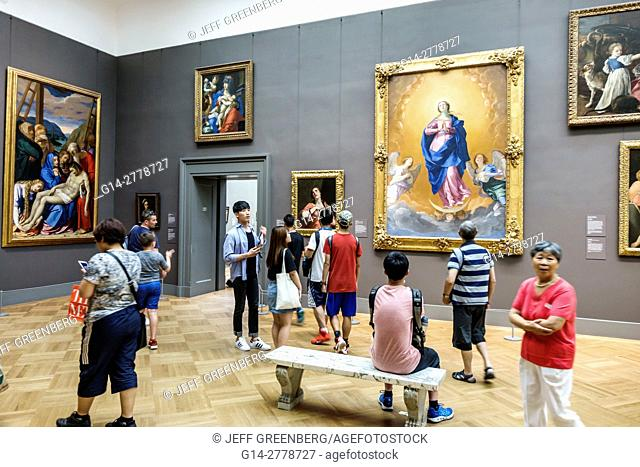 New York, New York City, NYC, Manhattan, Upper East Side, Fifth Avenue, Metropolitan Museum of Art, Met, gallery, painting, Italian Baroque, Guido Reni