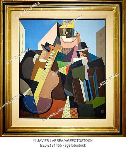 La canción del pueblo. Emilio Pettoruti. Museo de Arte Latinoamericano de Buenos Aires. MALBA. Fundación Costantini. Buenos Aires. Argentina