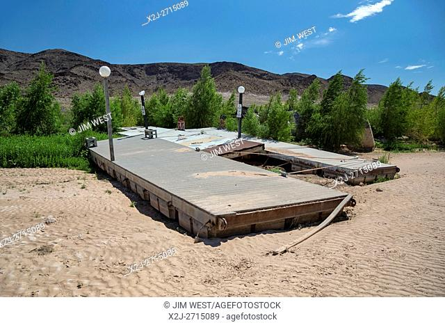 Las Vegas, Nevada - The water level in Lake Mead has fallen 150 feet below full, and is now at 37% of capacity due to drought in the West