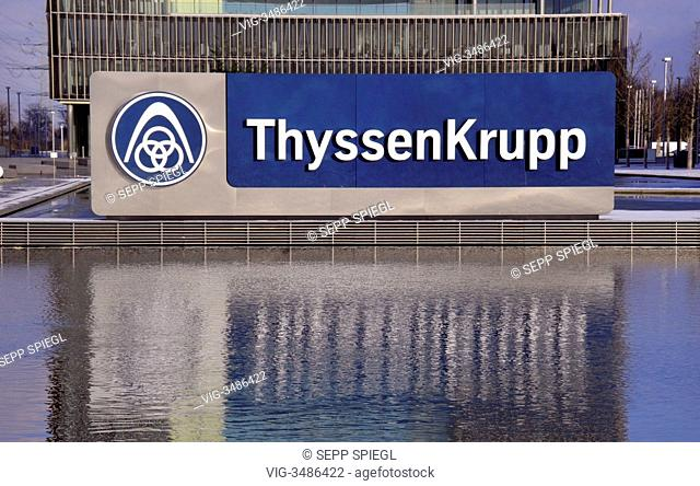 Thyssen tower block Stock Photos and Images | age fotostock