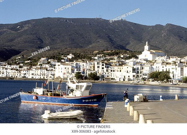 Harbour. Cadaqués. Costa Brava, Girona province, Spain