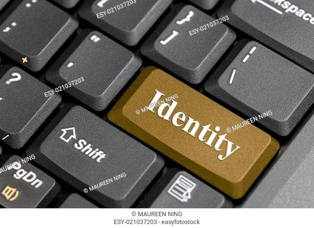 Identity key on keyboard