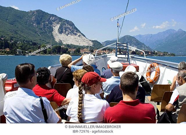At the Lake Lago Maggiore Piedmont Piemonte Italy