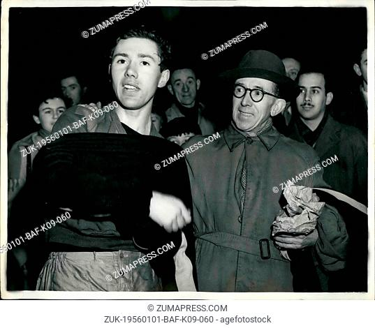 Jan. 01, 1956 - Ken Norris Wins Middlesex Cross Country Championship. Three Victories In One Week: Ken Norris the popular British Athlete who won the...