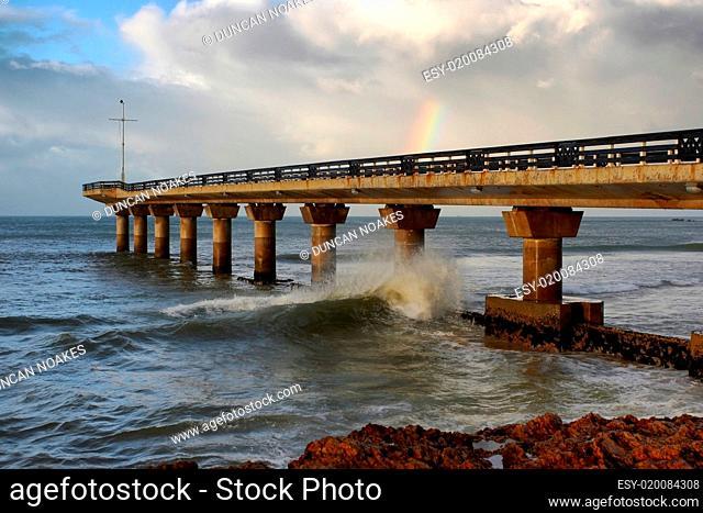 Oier, Sea and Rainbow