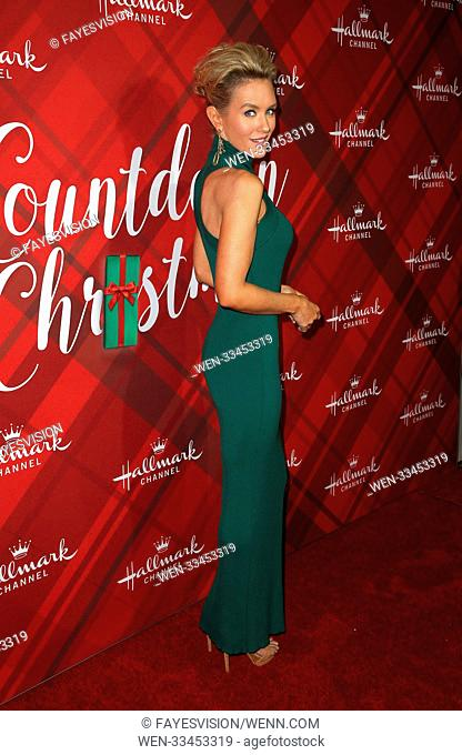 Hallmark Channel Screening of Christmas at Holly Lodge Featuring: Nicky Whelan Where: Los Angeles, California, United States When: 04 Dec 2017 Credit:...