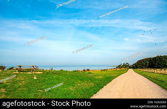 Wanderweg am Ostsee Ufer