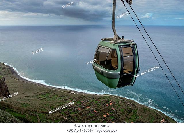Seilbahn, Achadas da Cruz, Madeira, Portugal