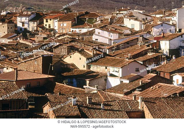 Jewish quarter. Hervás. Cáceres province, Extremadura, Spain