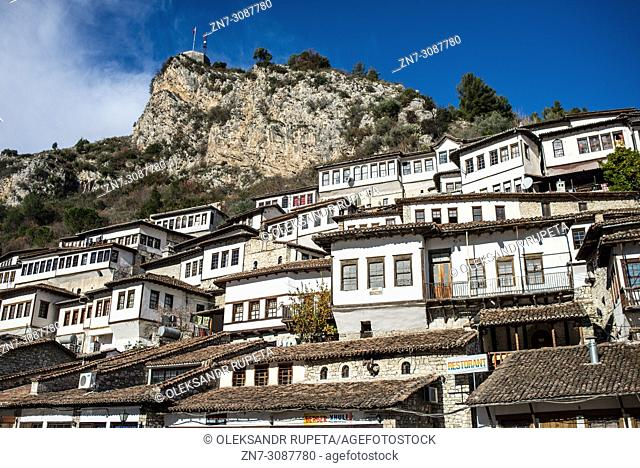 Historic Old Town of Berat, Albania