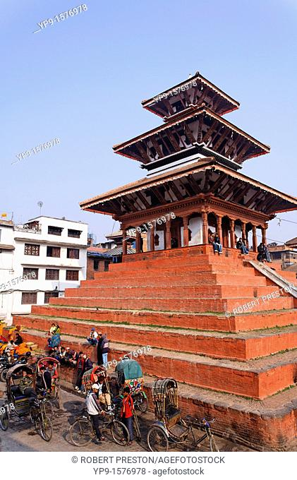 Maju Deval Temple, Durbar Square, Kathmandu, Nepal