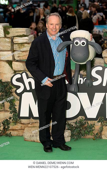 Shaun The Sheep Movie - UK film premiere held at the Vue West End - Arrivals. Featuring: Nick Park Where: London, United Kingdom When: 25 Jan 2015 Credit:...