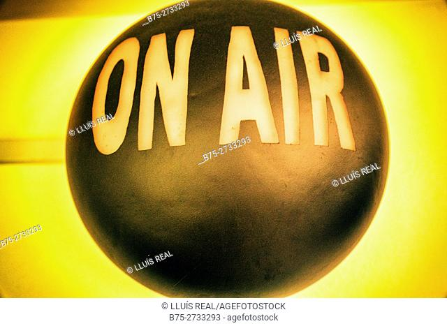 """""""On air"""" sign"""