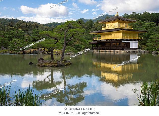 Asia, Japan, Nihon, Nippon, Kita, Kita-ku Kyoto, Kinkaku-ji