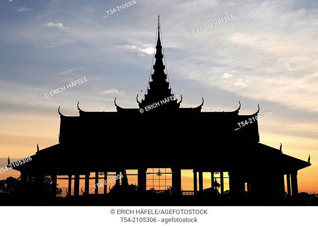 Royal Palace in Phnom Penh / Cambodia