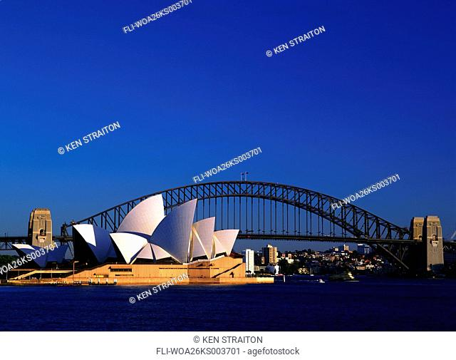 K.Straiton, Opera House and Harbour Bridge, Sydney, AU