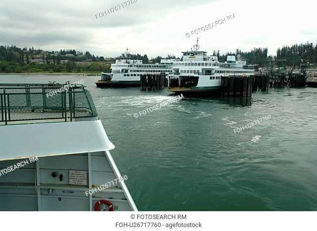Anacortes, WA, Washington, Puget Sound, San Juan Islands, Fidalgo Islands, Washington State ferry to British Columbia, Canada