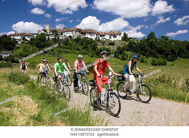 Velofahren bei Regensberg ZH