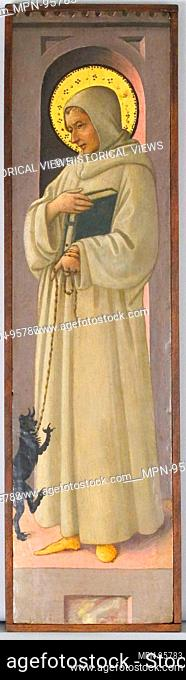 Saint Bernard of Clairvaux. Artist: Workshop of Fra Filippo Lippi (Italian, Florence ca. 1406-1469 Spoleto); Date: ca. 1447-1469; Culture: Italian