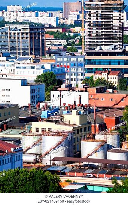 industrial area in Moscow