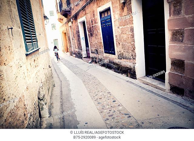 Ciutadella. Minorca, Balearic Islands, Spain