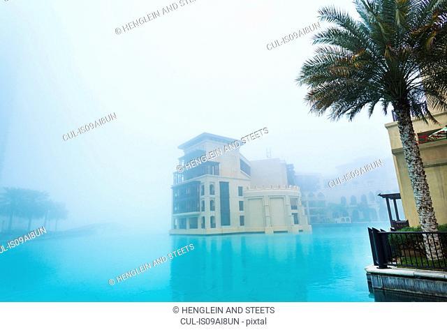 Downtown Dubai, Burj Khalifa Lake, Old Town Island, United Arab Emirates