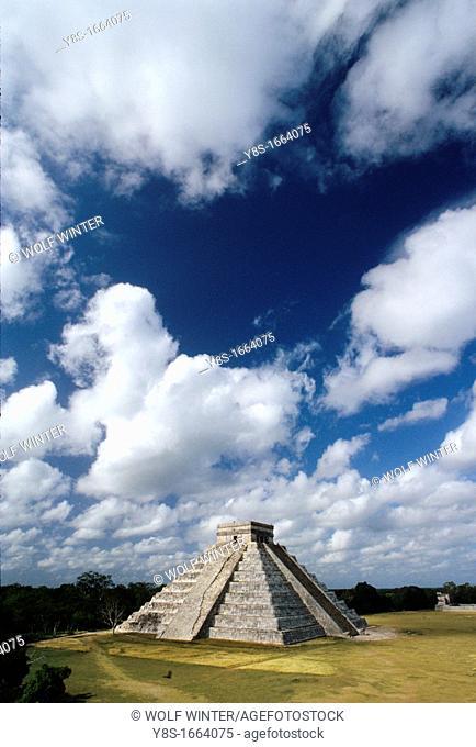 Castillo Pyramide in Chichén Itza