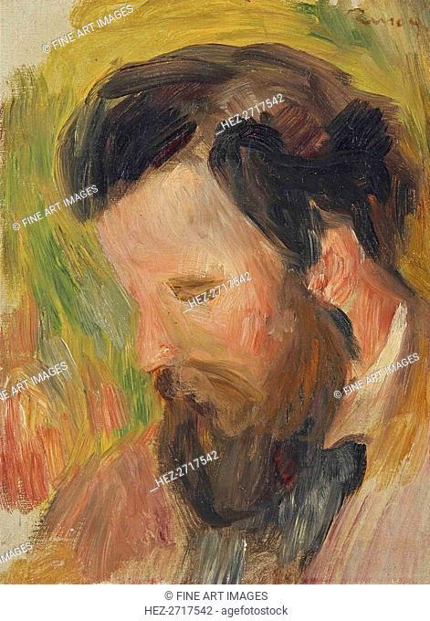 Portrait of the Composer Claude Terrasse (1867-1923), ca 1897. Creator: Renoir, Pierre Auguste (1841-1919)