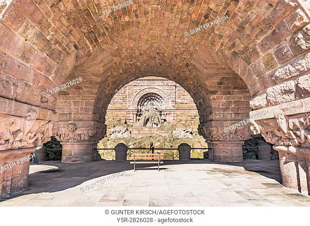 The Barbarossa Grotto is part of the Kyffhaeuser Monument. The Kyffhaeuser Monument is an Emperor William monument within the Kyffhaeuser mountain range in the...