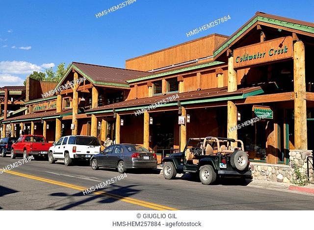United States, Wyoming, Jackson Hole