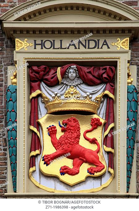 Netherlands, The Hague, coat of arms,