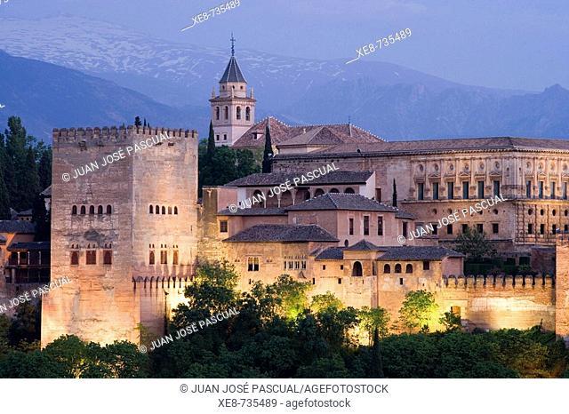 Alhambra, Granada. Andalucia, Spain
