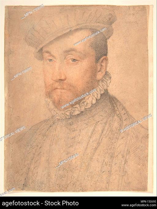 Portrait of a Man. Artist: Studio of François Clouet (French, Tours (?), active by 1536-died 1572 Paris); Artist: Anonymous, French