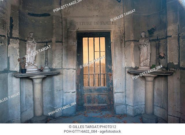 Paris, Montmartre Cemetery, tomb of marechal Lannes, chapel, family grave, Photo Gilles Targat