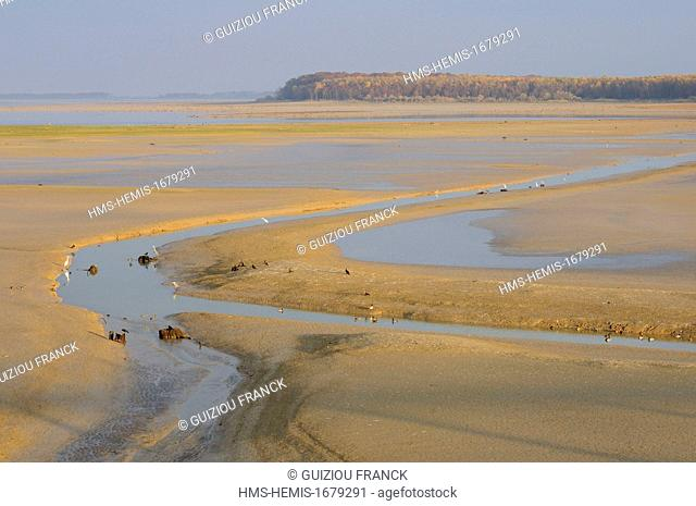 France, Haute Marne (52), the artificial lake Der-Chantecoq or Marne reservoir lake (often called Lac du Der)