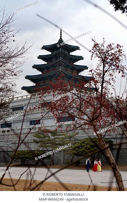 national folk museum of korea, seoul, corea del sud