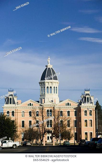 Presidio County Courthouse (b.1886). Marfa. West Texas. Texas, USA