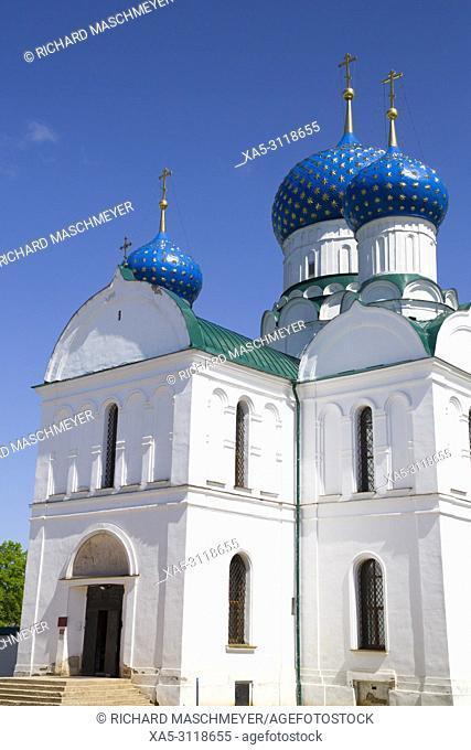 Bogoyavlensky Cathedral, Epiphany Monastery, Uglich, Golden Ring, Yaroslavl Oblast, Russia