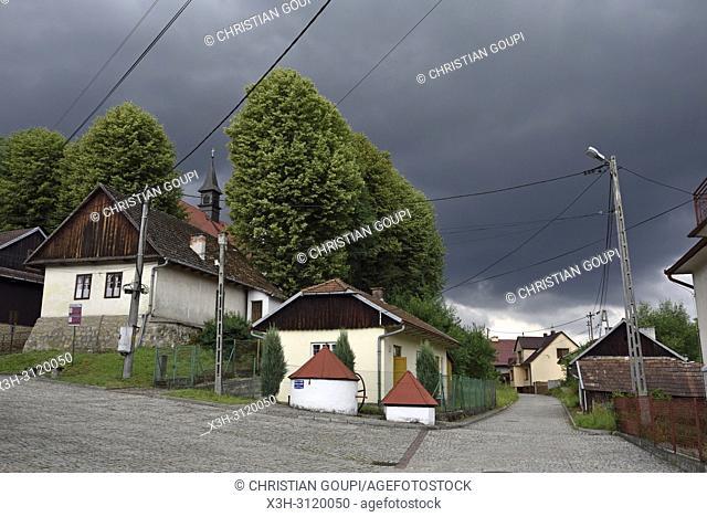 village of Lipnica Murowana Malopolska Province (Lesser Poland), Poland, Central Europe