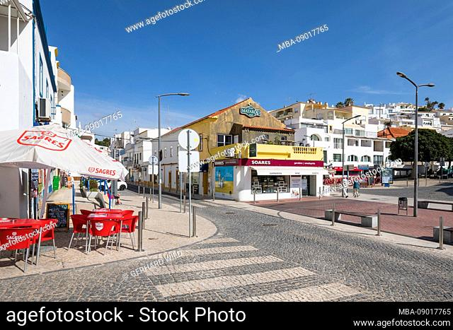 Center of Carvoeiro, Algarve, Faro district, Portugal